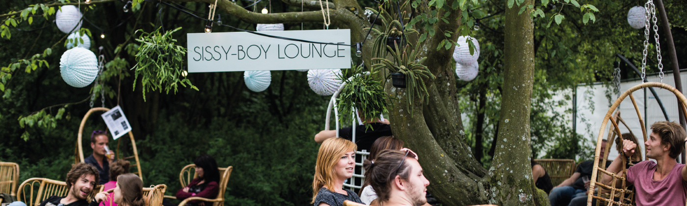 Sissy Boy Lounge area